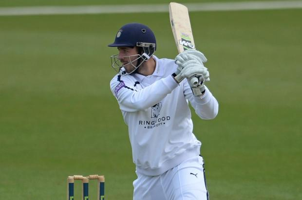 Hants go top of division two