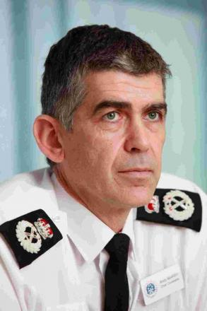 UKIP councillors have demanded the suspension of Hampshire's top police officer, Andy Marsh.