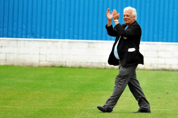 Basingstoke Gazette: Basingstoke Town chairman Rafi Razzak is confident going into the public