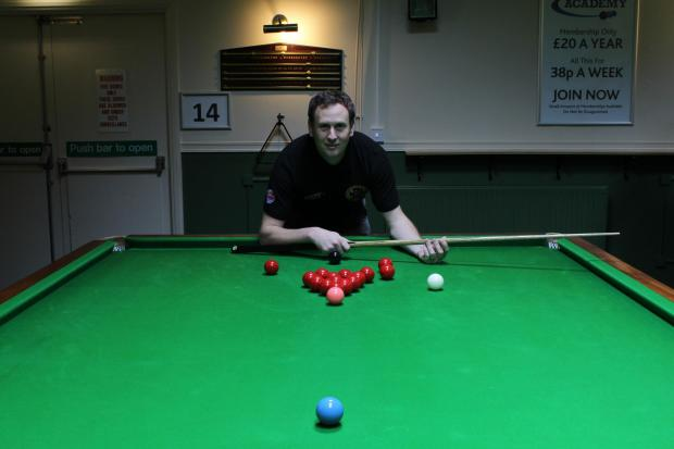 Snooker coach Stuart Graham
