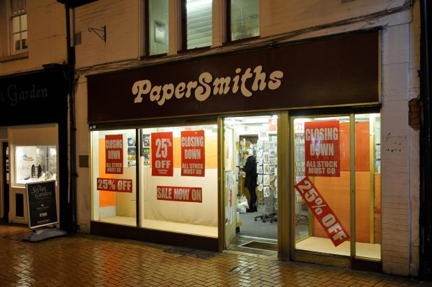 Basingstoke Gazette: The plan has been lodged for the building formerly occupied by Papersmiths