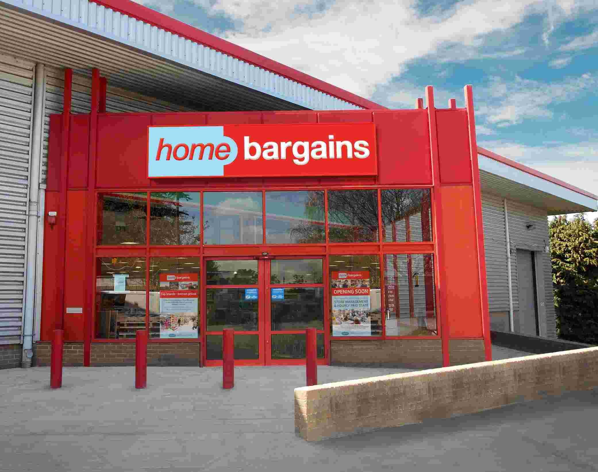 Home Bargains opens in Old Winchester Road this Saturday