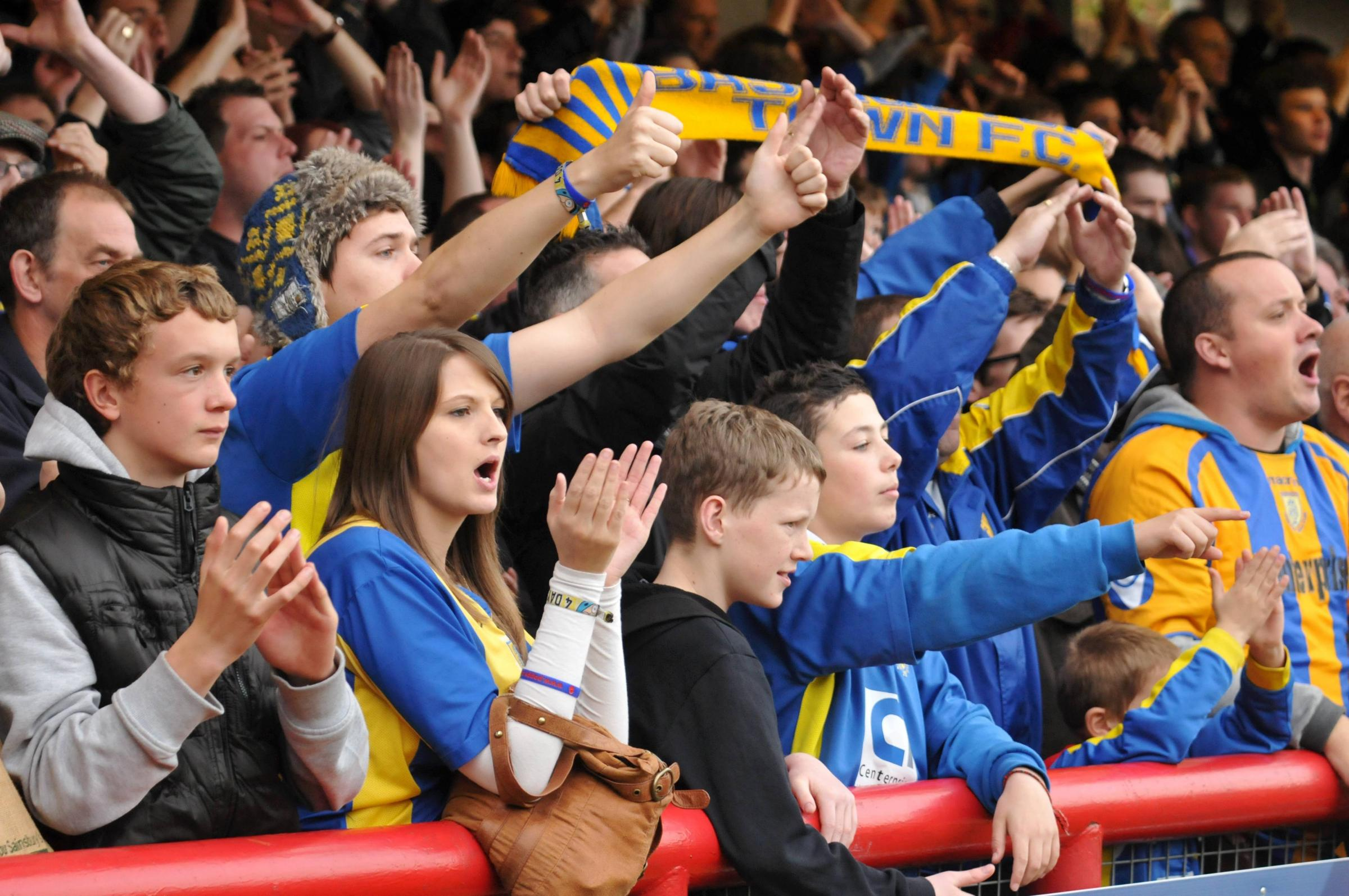 Jason Bristow wants Basingstoke Town's fans to be singing on Monday night