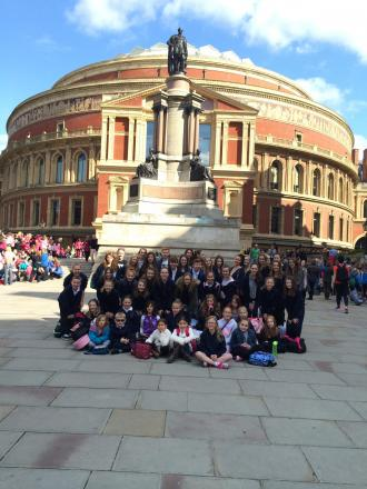 Local dance students take part in Royal Albert Hall show