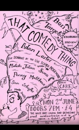 That Comedy Thing bring local comedy - for just £4 - back to The White Hart on June 2