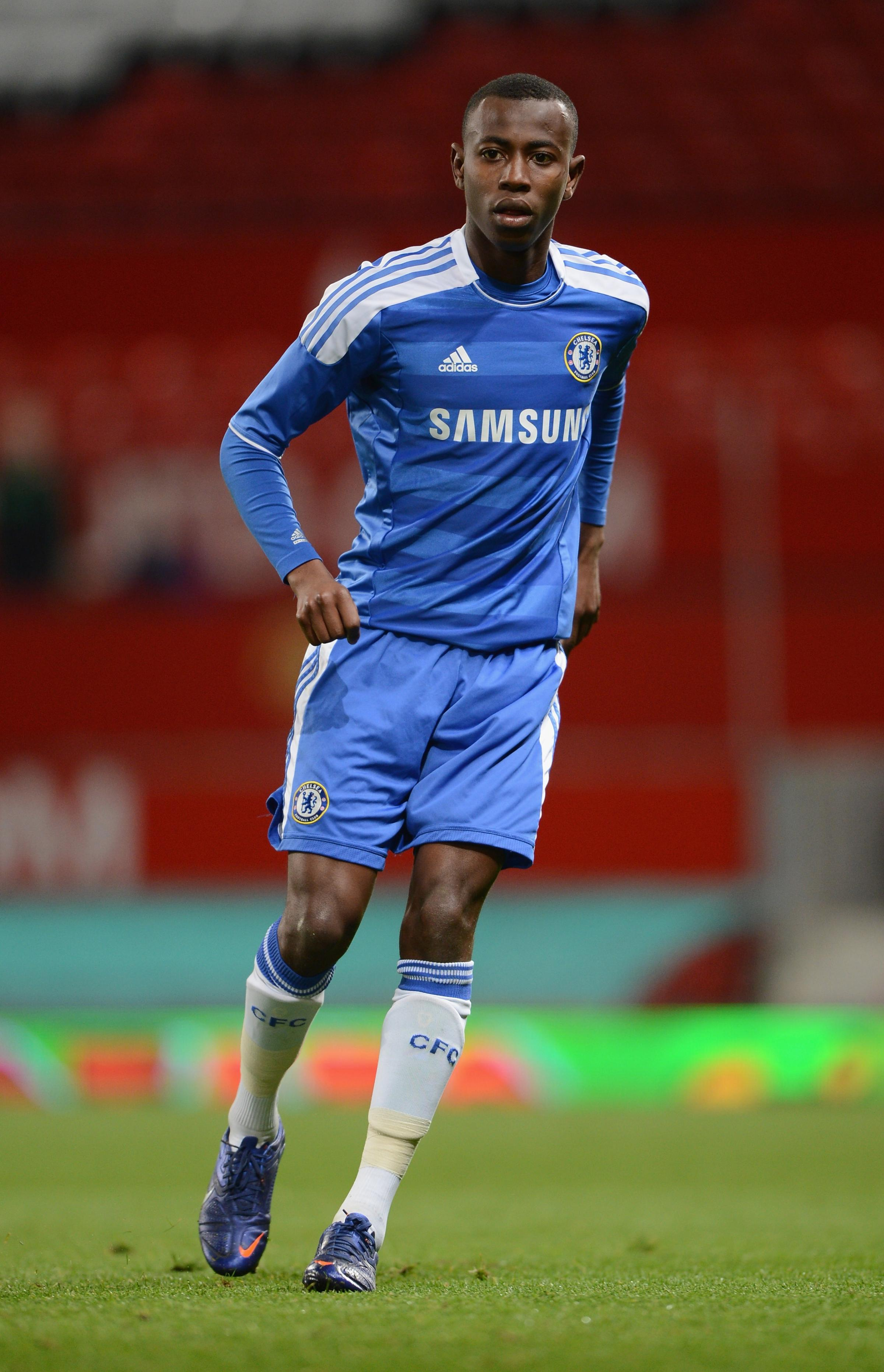 Adam Nditi during his time at Chelsea