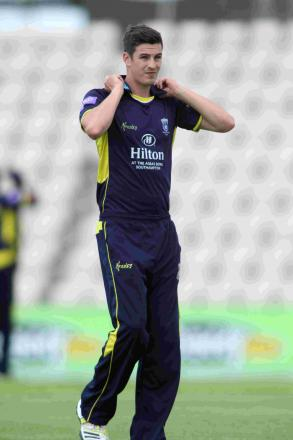 Chris Wood was unable to prevent Hampshire Academy losing last week