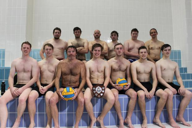 The Hampshire Knockout Cup-winning Basingstoke Bluefins squad