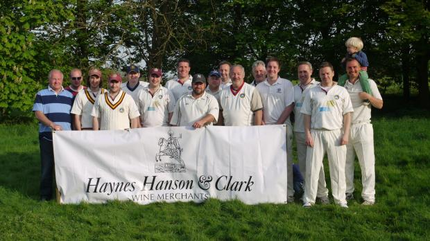 The Whitchurch CC team