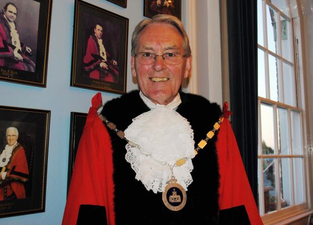 The new Mayor of Whitchurch Mike Kean