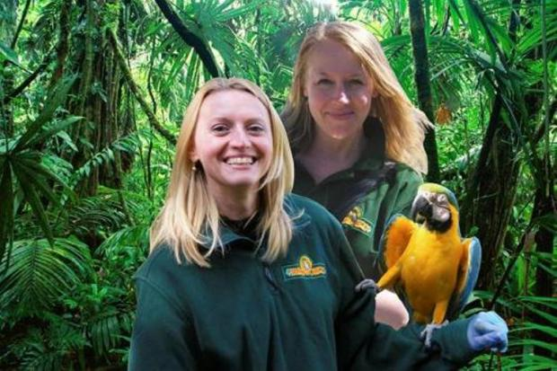 Two Birdworld staff members to attempt fundraising Parrot Challenge on Saturday