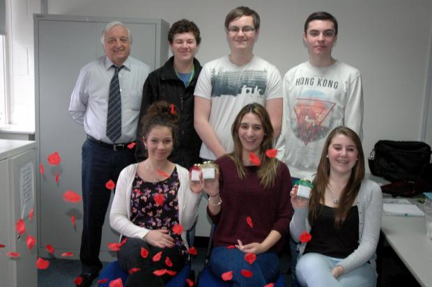 Basingstoke Gazette: Team Apex won Best Presentation