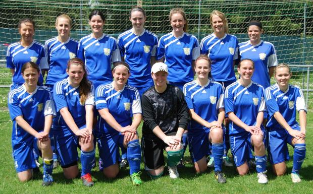 The Basingstoke Town Ladies squad