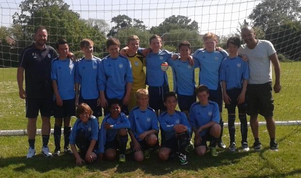 Winklebury Wizards under-13s have had a good season