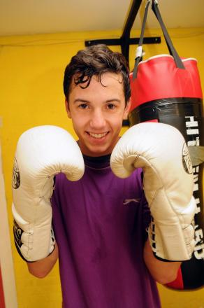 Boxer Matt Goddard will be guest of honour at the show