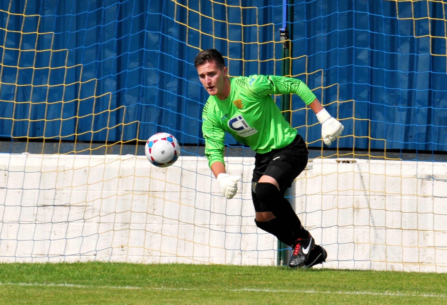 Several Football League clubs are interested in signing Basingstoke Town goalkeeper Joe McDonnell