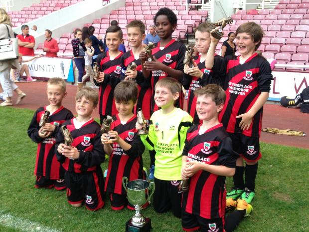 Andover Youth U9s have the time of lives at West Ham United