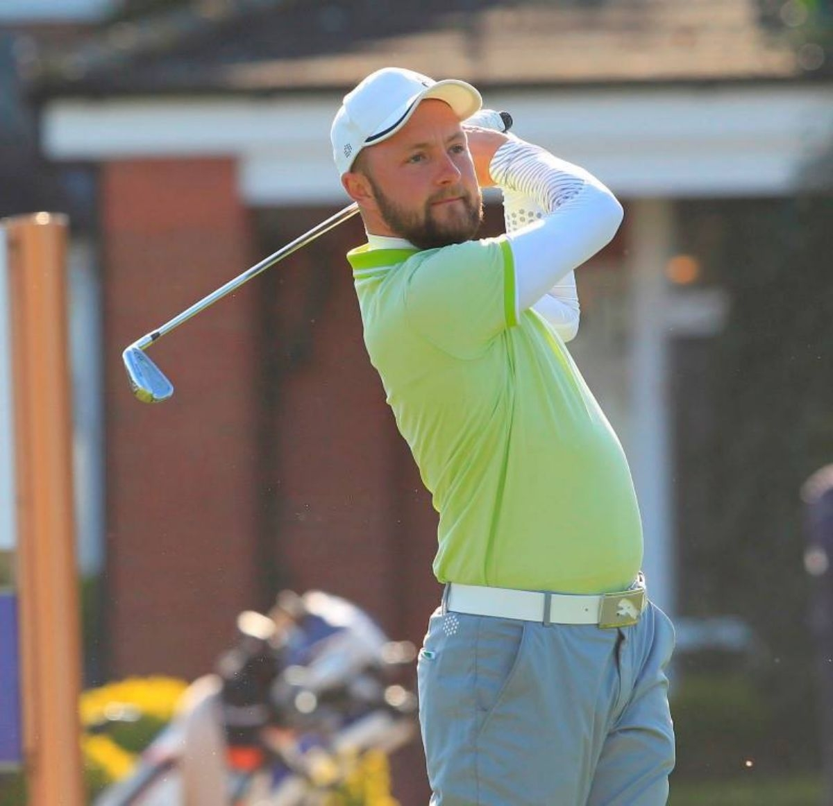 Stuart Archibald in action at the Belfry earlier this year
