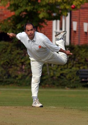 Kevin Poulter took five wickets for Hook