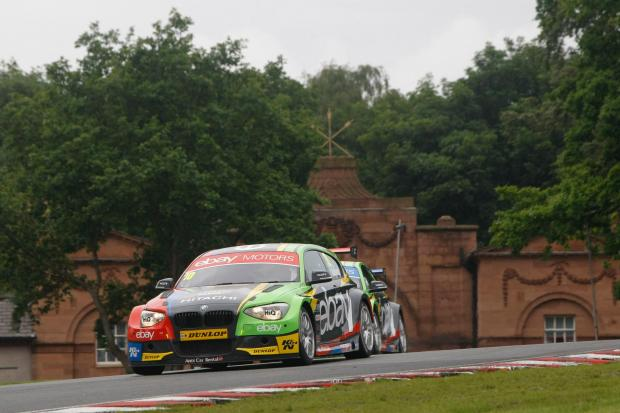 Rob Collard in action at Oulton Park