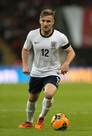 Luke Shaw claims bragging rights over former Saints colleague Rickie Lambert