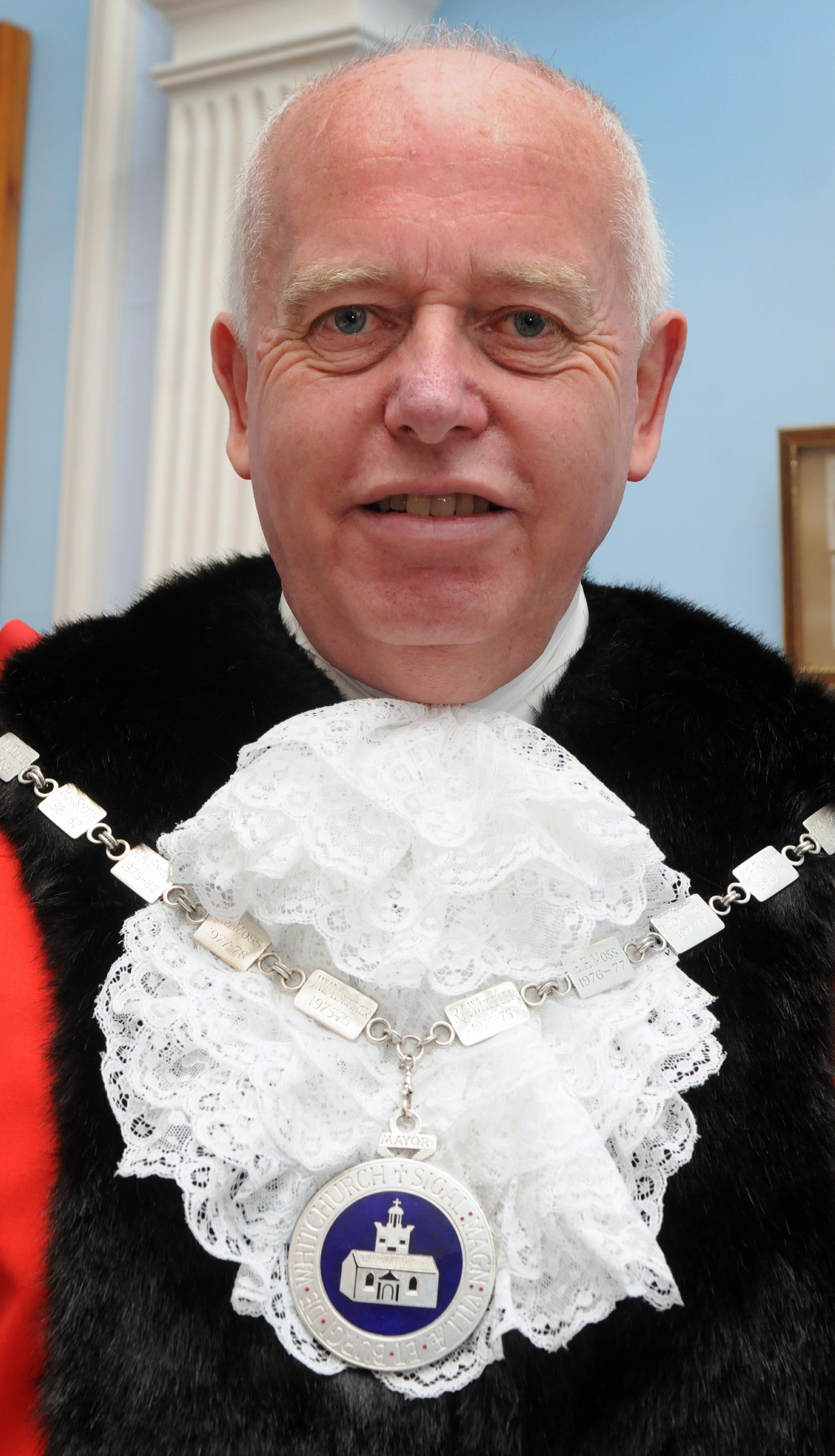 Former Whitchurch Mayor John Clark
