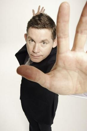 Lee Evans is performing at The Anvil on Tuesday