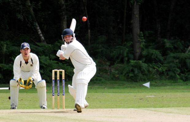 Adam Robinson hit 33, but his Oakley side were beaten by Chawton