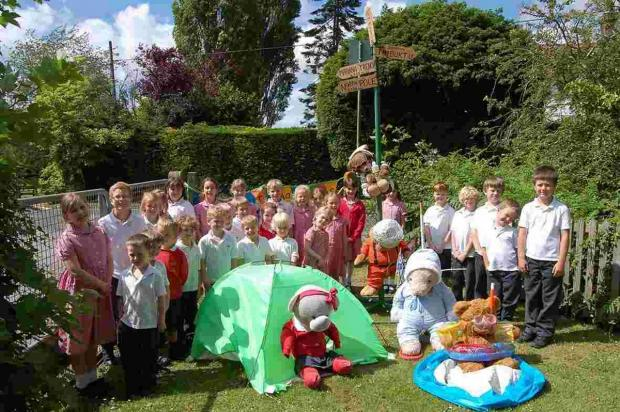Bears from across the county have been dressed up and hidden in Durley for the Durley Bear Hunt