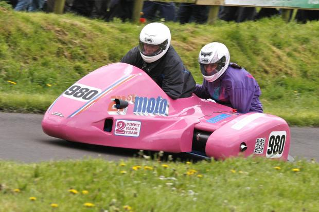 Hillclimb action this weekend at Gurston Down