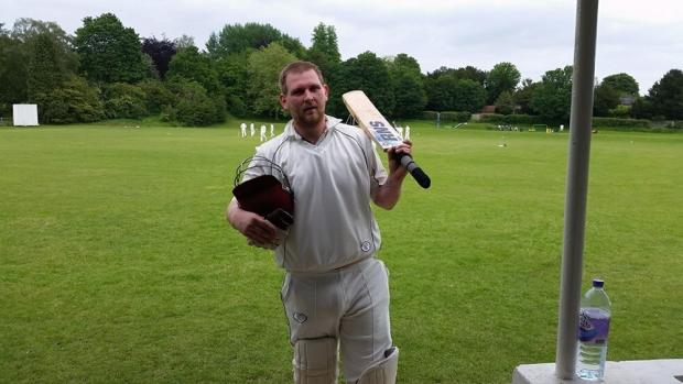 Basingstoke Gazette: Stuart Taylor was among the runs and the wickets on Saturday