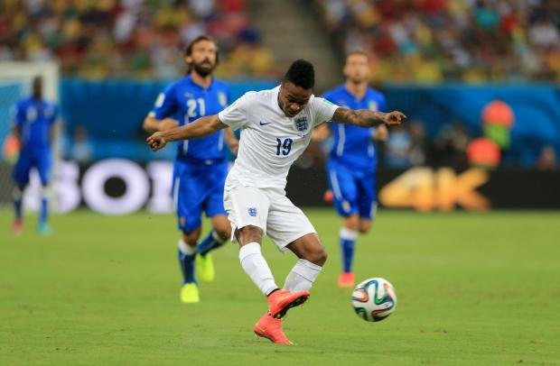 Raheem Sterling had a fine game for England against Italy