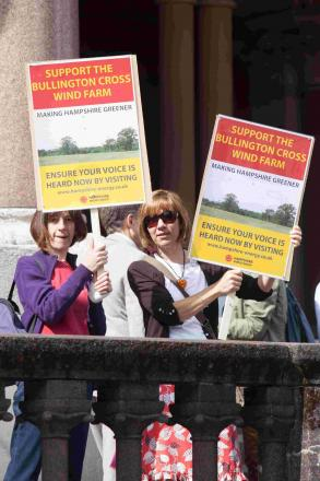 Bullington Cross wind farm proposal rejected