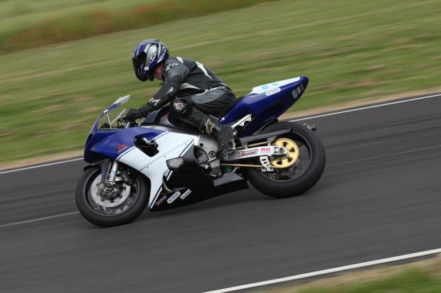 Nick Andrews was in action at Castle Combe.  Words and picture: Tim Crisp