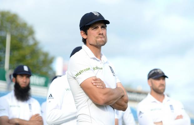 England cricket captain Alastair Cook is under immense pressure following his side's defeat to India