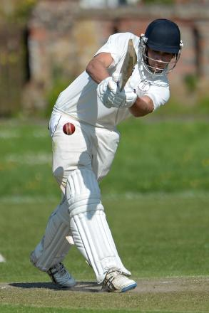 Jack Hersh made 65 as Hartley Wintney beat Calmore Sports last weekend