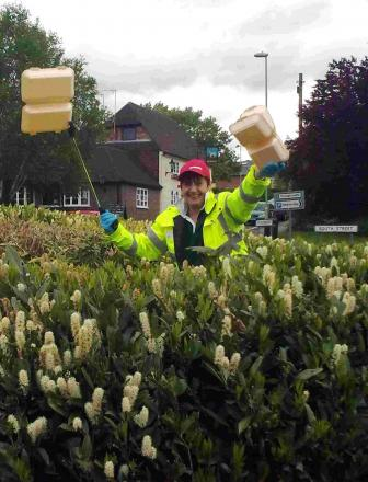 PM honour for Andover litter campaigner