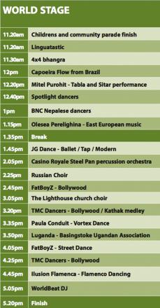 The World Stage programme for World Party