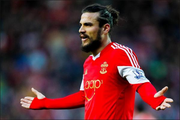 Bad boy Osvaldo back at Saints