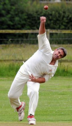 Ady Budd bowled some unplayable deliveries but rain put paid to Priors' hopes