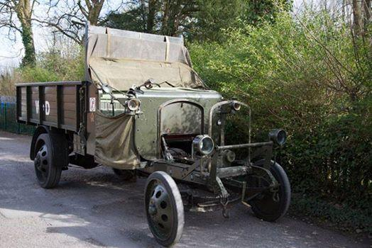 100 year-old Thornycroft military lorry to visit the Willis Museum on Friday