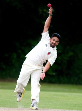 Danny Foy was among the wickets at New Milton