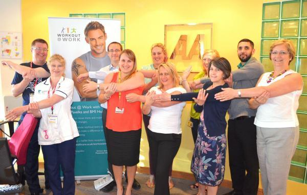 Employees encouraged to 'Workout @ Work'