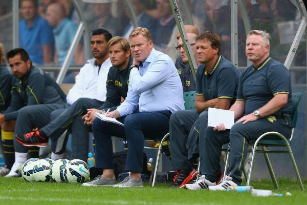 Ronald Koeman spent almost £60m in the 2014 summer transfer record