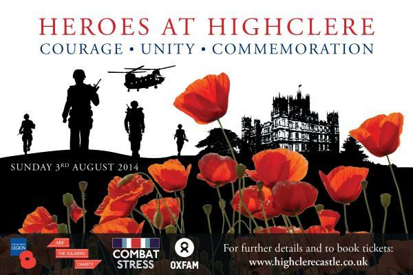 Kate Adie and Alexandra Burke among stars of next month's Heroes at Highclere Castle event