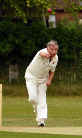 Hook's Steve Cates took a hat-trick but ended up on the losing side