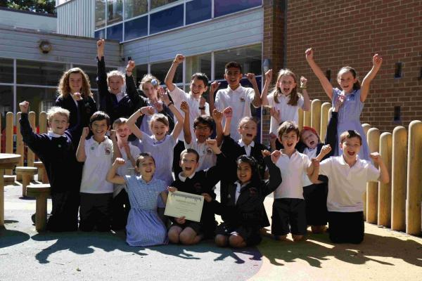 Hiltingbury Junior School are celebrating the win of a Speaker School Council Award.