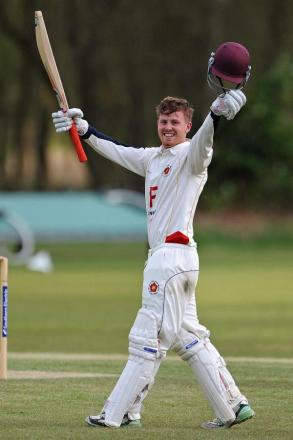 Hook captain Matt Love returned to form with a century against Fawley