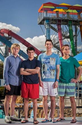 Steve Pratt has a chat with the lads from The Inbetweeners 2