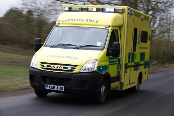 One patient taken to hospital following crash on Winchester Road roundabout